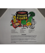 Louisiana Seafood GUMBO RECIPE Chef / Bib Apron - NWT  - $14.95