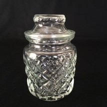 Vintage Diamond Pattern Small Canister/Jar with... - $18.68