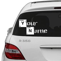 (16'' x 8'') Custom Personalized Vinyl Decal Text in Breaking Bad Style / Nam... - $15.62
