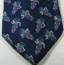 Ermenegenlido Zegna Rich Navy With Blue Pink Wrapper Tie  Excellent Tie Rare - $99.99