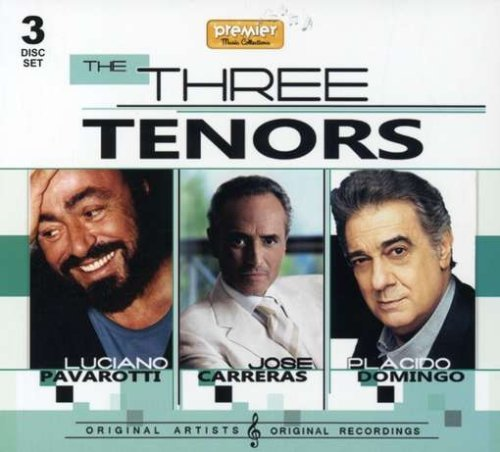 The three tenors   3 cd set   by placido domingo jose carreras luciano pavarotti