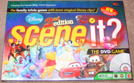 SCENE IT DVD GAME DISNEY 2ND EDITION 2007 MATTEL COMPLETE EXCELLENT - $30.00