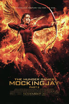 hunger games 4 mockingjay original movie poster  27x40   final  katniss - $20.65
