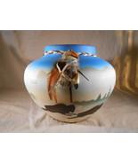 BUFFALO Ceramic POT Western Home Decor (#33158) - $30.00