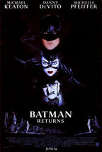 Original Movie Poster Batman Returns Michael Keaton SS Rolled 27x40 - $25.99