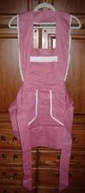 Bib Apron Ladies Handmade Vintage Retro Style (pink with tiny dots) Bonu... - $25.99