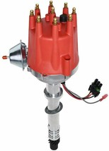 Pro Series R2R Distributor for Chevrolet SBC BBC with Fixed Collar Red Cap image 1