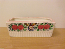 Vintage Handpainted Ceramic rectangle planter occupied japan