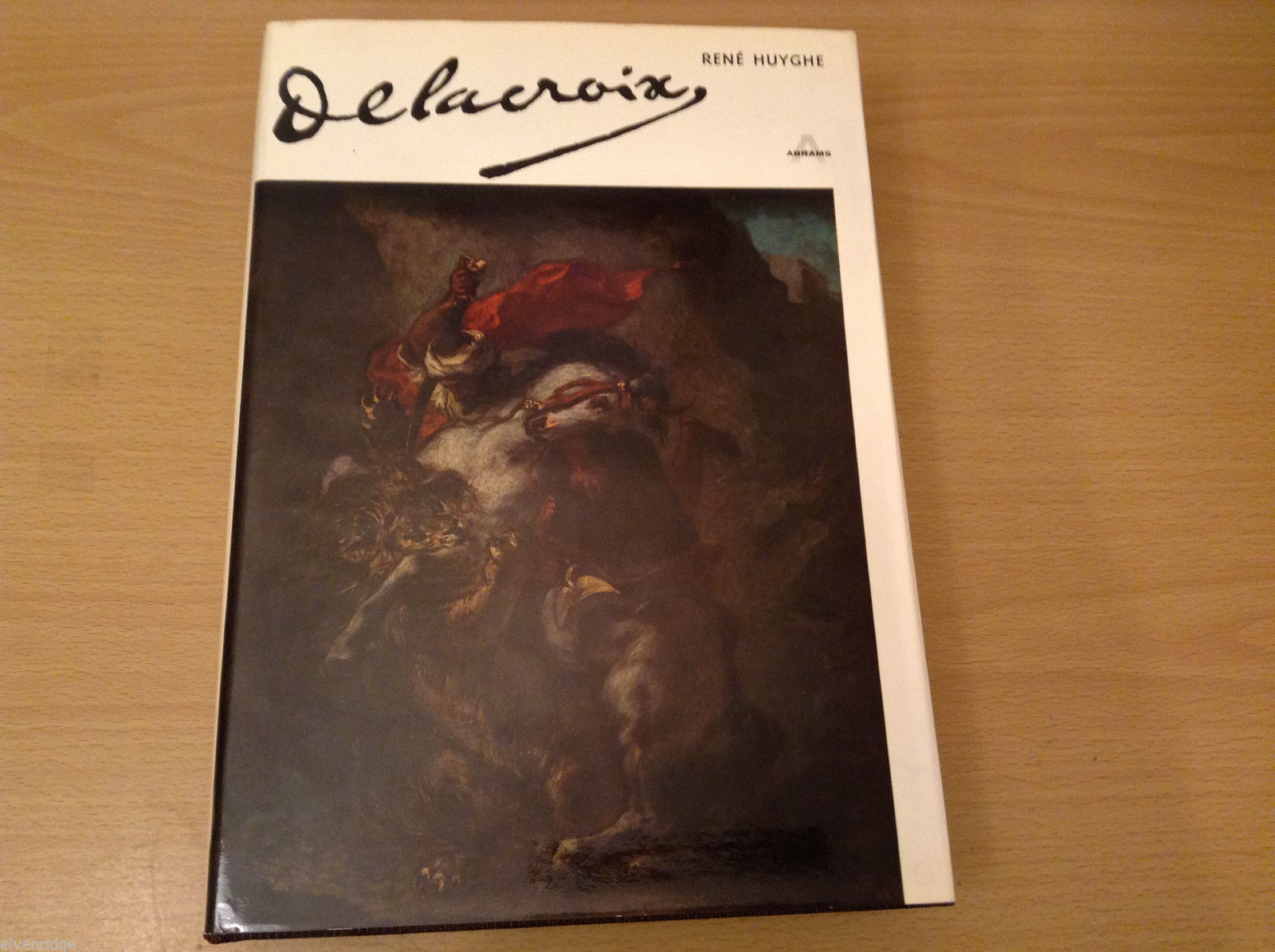 Vintage 1963 Delacroix by Rene Huyghe Art Book 564 Pages