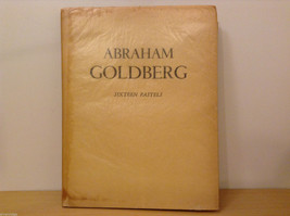 Vintage Abraham Goldberg 16 Pastel Drwaings Art book 1947 - $123.74