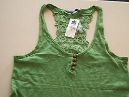 Gap crochet racerback tank, size M, NWT, $34.50 - $10.00