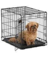 Dog Crate | MidWest ICrate 24 Folding Metal Dog Crate W/ Divider Panel,... - £27.57 GBP