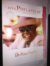 New DR MAYA ANGELOU USPS STAMP CATALOG 2015 USA PHILATELIC VOL 20 QTR 2 - $1.83