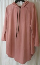 L & B Lucky & Blessed Womans Large Pink Long Hoodie  - $24.74