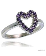 Size 10 - Highest Quality Sterling Silver 1/2 in (11 mm) wide Ladies' He... - $68.61