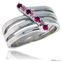 Size 8 - Highest Quality Sterling Silver 1/2 in (13 mm) wide Right Hand ... - $77.39