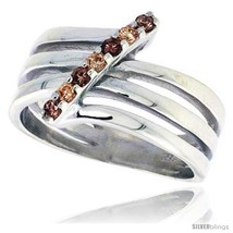 Size 7 - Highest Quality Sterling Silver 1/2 in (13 mm) wide Right Hand Ring,  image 2