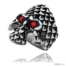 Size 12 - Surgical Steel Biker Ring Gothic Skul... - $31.26