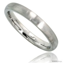 Size 7 - Surgical Steel 3mm Domed Wedding Band Thumb / Toe Ring Comfort-... - $19.58