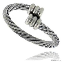 Surgical Steel Cable Ring 2.5 mm Fits all sizes 7 thru  - £16.66 GBP