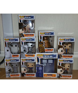 Funko Pop! Doctor Who Complete Set of 9 vinyl figures including TARDIS. In Stock - $129.95