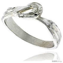 Size 8.5 - Sterling Silver Freeform Ring Polished finish 1/4 in  - $23.53