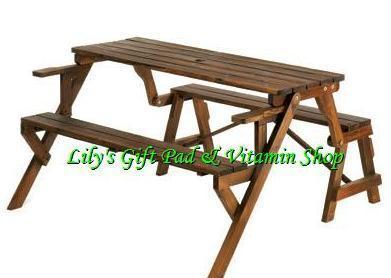 Convertible garden picnic table turns into park bench fir wood 14649 tables Picnic table that turns into a bench
