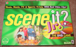 SCENE IT DVD GAME JR 2004 SCREENLIFE MATTEL LIGHTLY PLAYED CONDITION - $15.00