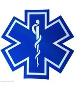 """STAR OF LIFE 32"""" x 32"""" Highly REFLECTIVE Ambulance Decal -Star of Life E... - $141.32"""