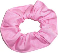 Ballet Pink Cotton Fabric Hair Scrunchie Scrunchies by Sherry Handmade i... - $6.99