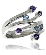 Size 8 - Highest Quality Sterling Silver 3/4 in (19 mm) wide Ladies' Rig... - £60.63 GBP