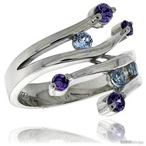Size 9 - Highest Quality Sterling Silver 3/4 in (19 mm) wide Ladies' Rig... - $65.09