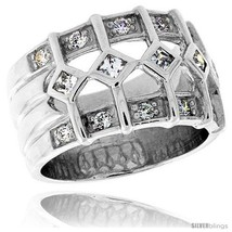 Size 7 - Highest Quality Sterling Silver 1/2 in (13 mm) wide Ladies' Rig... - $112.80
