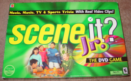 SCENE IT DVD GAME JR EDITION 2004 SCREENLIFE SEALED PARTS COMPLETE UNUSED - $15.00