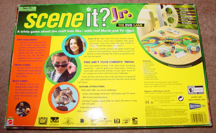 Scene It Dvd Game Jr Edition 2004 Screenlife And 50 Similar Items