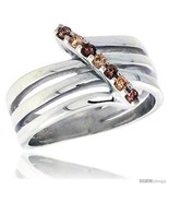 Size 8 - Highest Quality Sterling Silver 1/2 in (13 mm) wide Right Hand Ring,  - $77.39