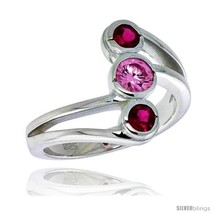Size 6 - Highest Quality Sterling Silver 5/8 in (16 mm) wide Right Hand ... - $73.88