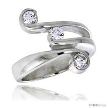 Size 8 - Highest Quality Sterling Silver 3/4 in (17 mm) wide Right Hand ... - $56.20