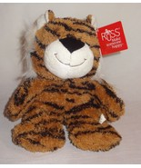 "Russ Tiger Plush Stuffed Animal No. 39663 Orange Black 9"" - $15.78"