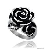 Stainless Steel Rose Flower 7/8 in  - £55.59 GBP