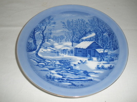 Vintage A Home In the Wilderness Currier & Ives Decorative Plate Made in... - $17.75