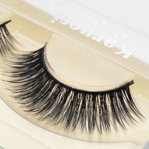 Visofree® Pair Supernatural Eyelashes Handmade False Strip Mink Lashes T... - $4.45