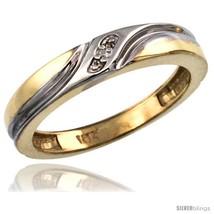 Size 5 - 14k Gold Ladies' Diamond Wedding Ring Band, w/ 0.013 Carat Bril... - $395.63