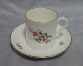 Royal Worcester Danbury Mint Demitasse Cup and Saucer Set - $9.41
