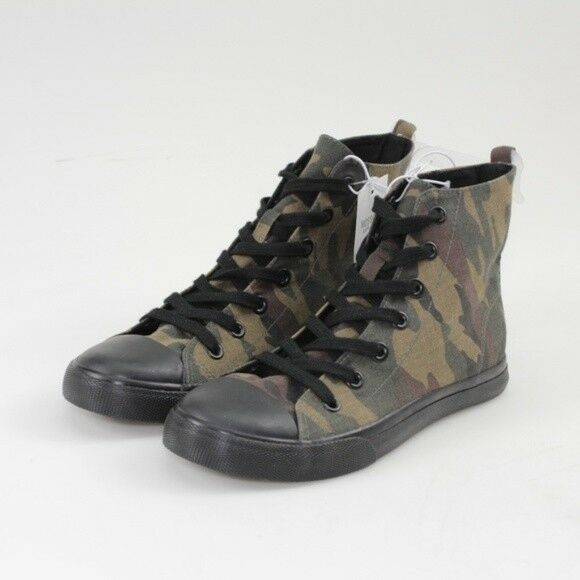 Brand New Womens Mossimo Lux High Top Camo Print Canvas Sneaker NWT