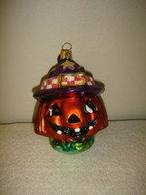 Christopher Radko Halloween Halloween~Fall Jackie O'Lantern Jr Ornament - $22.99