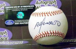 Alfonso Soriano autographed Baseball (New York Yankees) Exact ball pictured Imag - $119.00