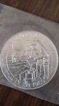 Apollo Eleven 11 Aluminum Medal Armstrong Collins Aldrin Lunar Landing 1... - $9.99