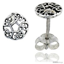 Sterling Silver Celtic Knot Stud Earrings, 1/4 in -Style  - $13.14