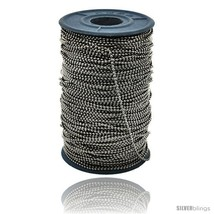 Stainless Steel Bead Ball Chain 1.5 mm 100 Yard  - $234.23